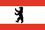 Flagge Senatsverwaltung für Inneres