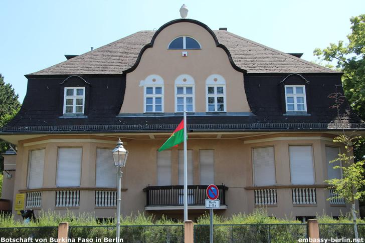 Botschaft von Burkina Faso in Berlin