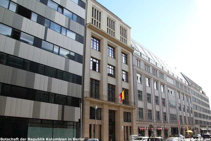 Botschaft der Republik Kolumbien in Berlin