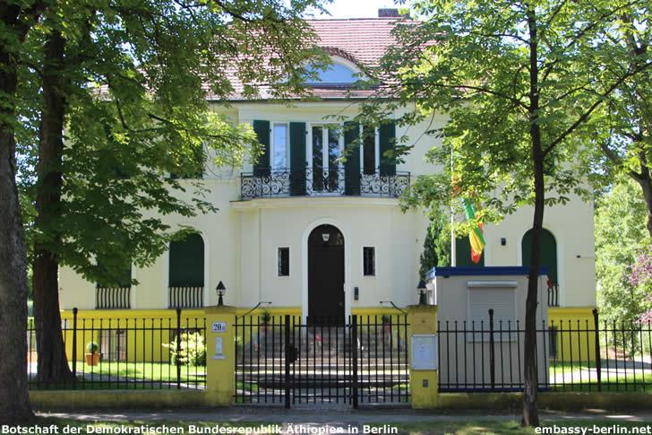 Botschaft der Demokratischen Bundesrepublik Äthiopien in Berlin