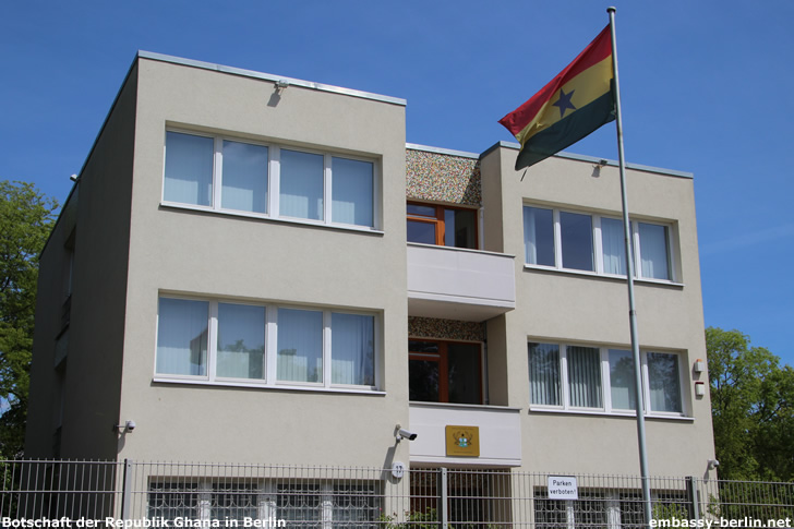 Botschaft der Republik Ghana in Berlin