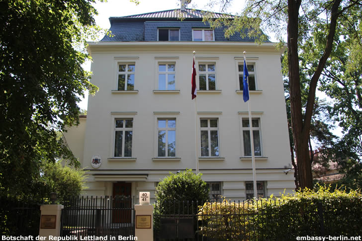 Botschaft der Republik Lettland in Berlin