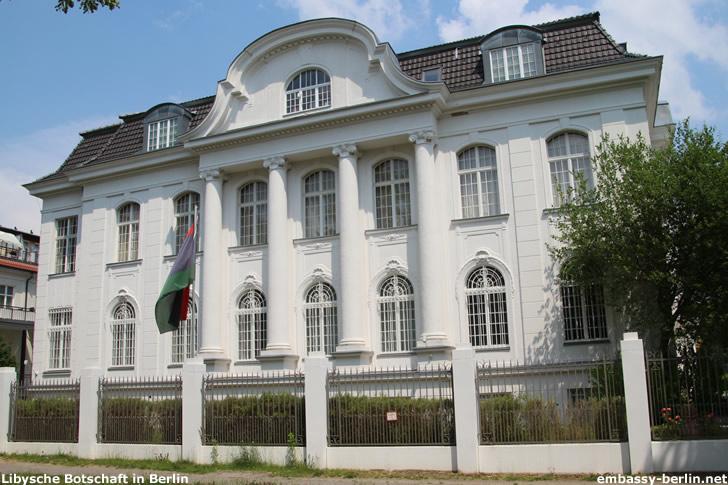 Libysche Botschaft in Berlin