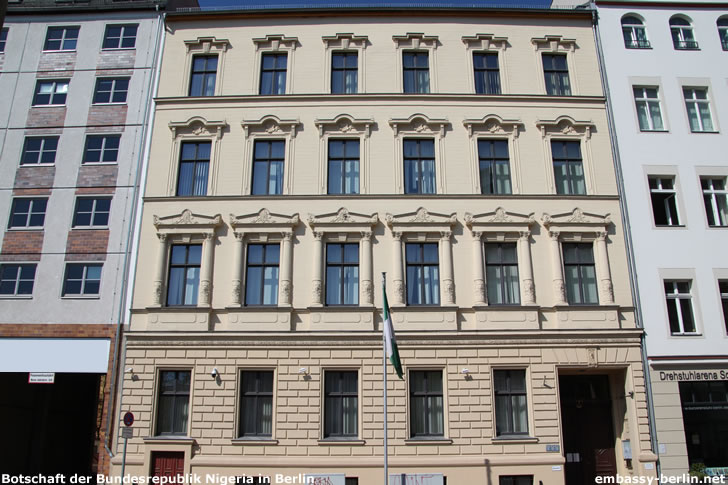 Botschaft Nigeria Frankfurt