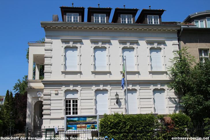 Botschaft der Vereinigten Republik Tansania in Berlin