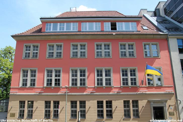 Ukrainische Botschaft in Berlin