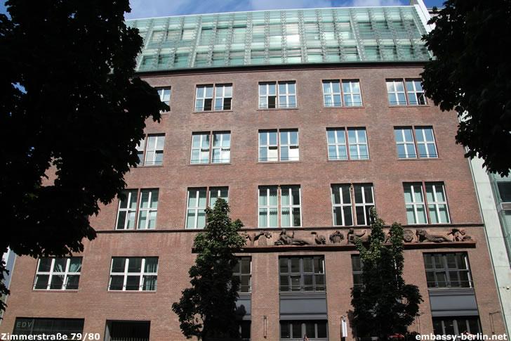 WFP-Büro Berlin im Alfandary-Haus