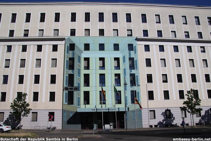Botschaft der Republik Sambia in Berlin