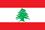 Flagge Libanon