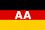 Flagge Außenministerium