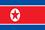 Flagge Nordkorea