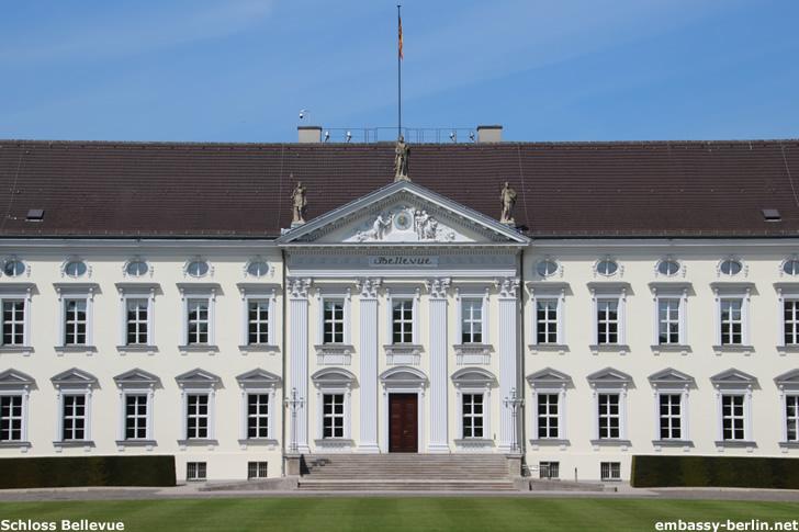 Schloss Bellevue - Amtssitz des Bundespräsidenten