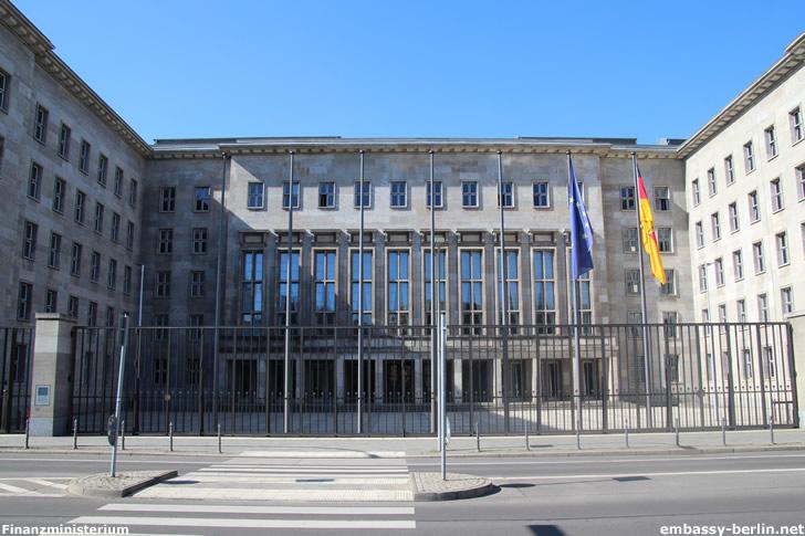 Bundesministerium der Finanzen (Detlev-Rohwedder-Haus)