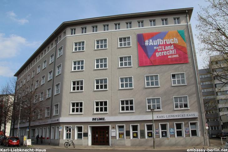 Karl-Liebknecht-Haus - Parteizentrale DIE LINKE