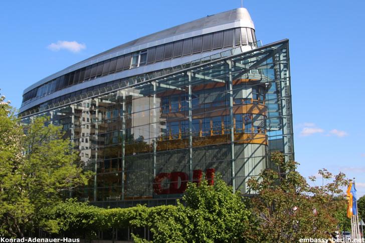 Konrad-Adenauer-Haus - Bundesgeschäftsstelle der CDU