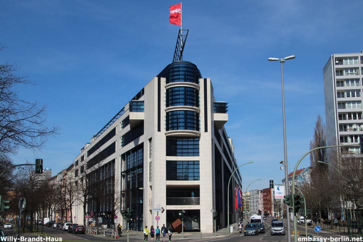 Willy-Brandt-Haus - Bundeszentrale der SPD