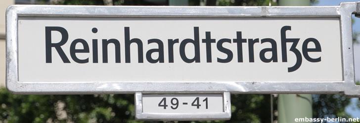 Reinhardtstraße